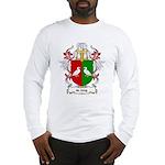 de Jong Coat of Arms Long Sleeve T-Shirt