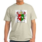 de Jong Coat of Arms Ash Grey T-Shirt