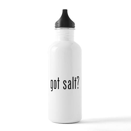 Got salt? Stainless Water Bottle 1.0L