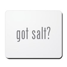 Got salt? Mousepad