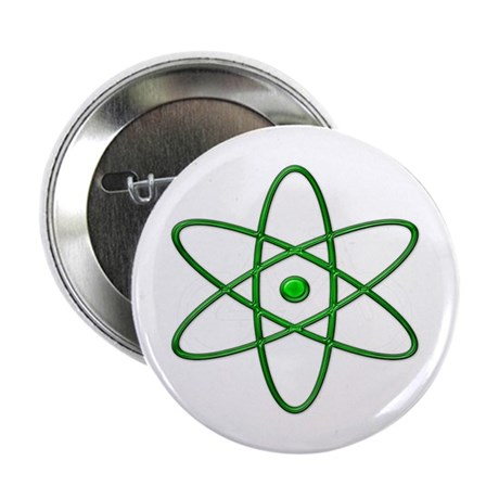 """Orbit, Green"" Button"