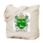 Van der Jagt Coat of Arms Tote Bag