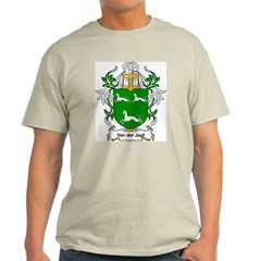 Van der Jagt Coat of Arms Ash Grey T-Shirt
