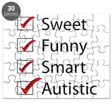Sweet, Funny, Smart, Autistic Puzzle