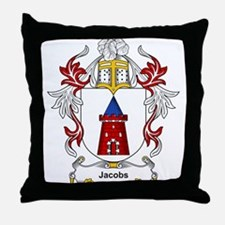 Jacobs Coat of Arms, Family C Throw Pillow