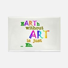Earth Without Art Rectangle Magnet (100 pack)