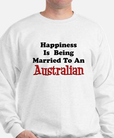Happiness Married Australian Sweatshirt