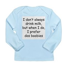 dos boobies Long Sleeve Infant T-Shirt