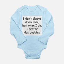 dos boobies Long Sleeve Infant Bodysuit