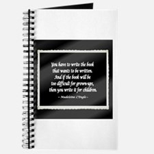L'Engle Quote Journal