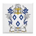 Van Impe Coat of Arms Tile Coaster
