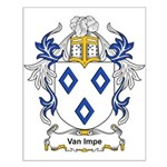 Van Impe Coat of Arms Small Poster
