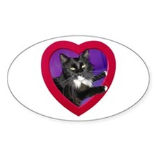 Cat in Heart Decal