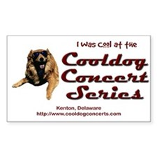 Cooldog Rectangle Decal