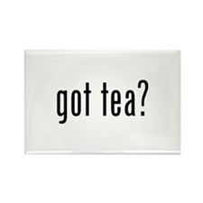 Got tea? Rectangle Magnet