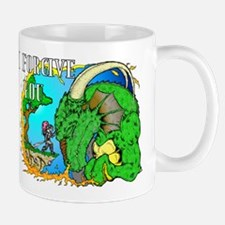 I Forgive Dragon Mug