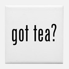 Got tea? Tile Coaster