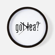 Got tea? Wall Clock