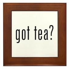 Got tea? Framed Tile