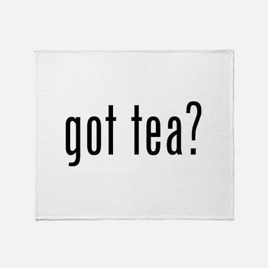 Got tea? Throw Blanket