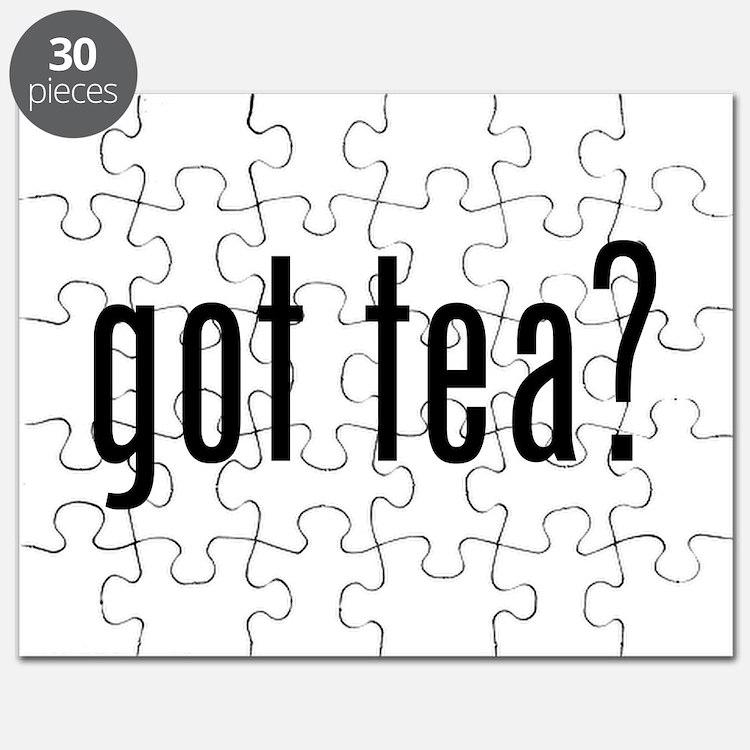 Got tea? Puzzle