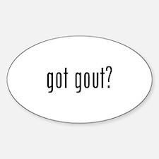 Got gout? Decal