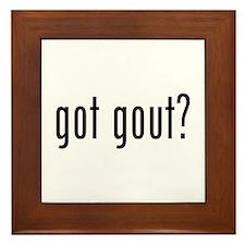 Got gout? Framed Tile