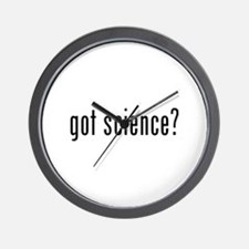 Got science? Wall Clock