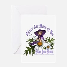 There Are More of Us: Pagan W Greeting Card