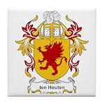 ten Houten Coat of Arms Tile Coaster