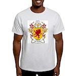 ten Houten Coat of Arms Ash Grey T-Shirt