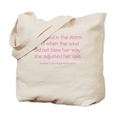 Cute Remembering my mom breast cancer Tote Bag