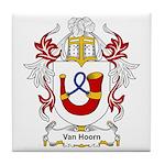 Van Hoorn Coat of Arms Tile Coaster