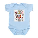 Van Hoorn Coat of Arms Infant Creeper