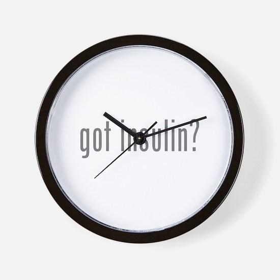 Got insulin? Wall Clock