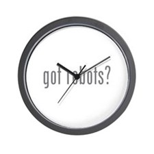 Got robots? Wall Clock