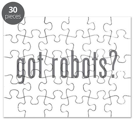 Got robots? Puzzle