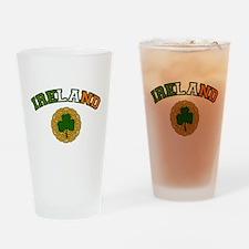 Ireland Collegic Drinking Glass