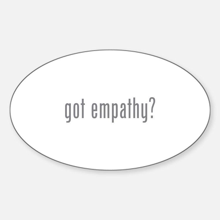 Got empathy? Decal