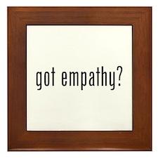 Got empathy? Framed Tile