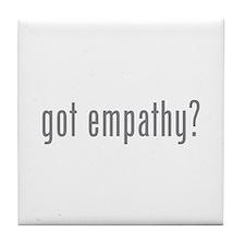 Got empathy? Tile Coaster