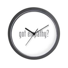 Got empathy? Wall Clock