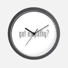 Got empathy? Wall Clock