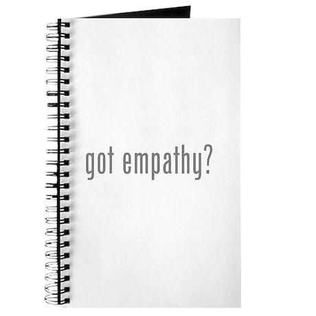Got empathy? Journal