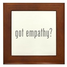 Got empathy? Framed Tile