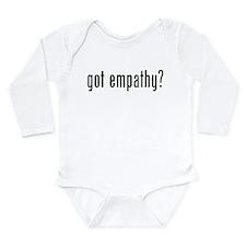 Got empathy? Long Sleeve Infant Bodysuit