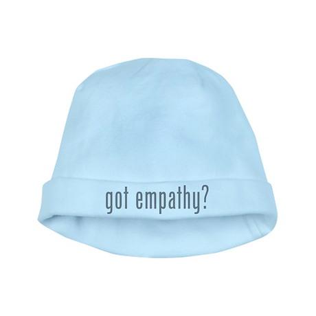 Got empathy? baby hat