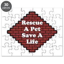 Rescue A Pet, Save A Life Puzzle
