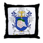 t' Hooft Coat of Arms Throw Pillow