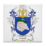 t' Hooft Coat of Arms Tile Coaster